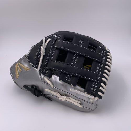 Easton el jefe Metálico Series-Negro Plateado Metálico - 13.5  Slowpitch Guante RHT