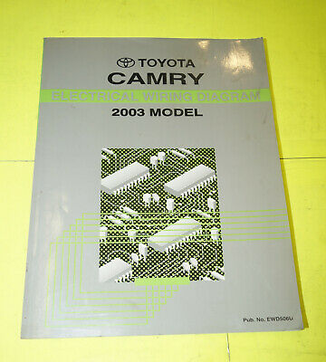 2003 Toyota Camry OEM EVTM Electrical Wiring Diagram ...