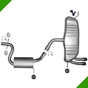 VW-Golf-5-2-0-Gti-200-Ch-147kW-Systeme-D-039-Echappement-Complet-Silencieux-Centre