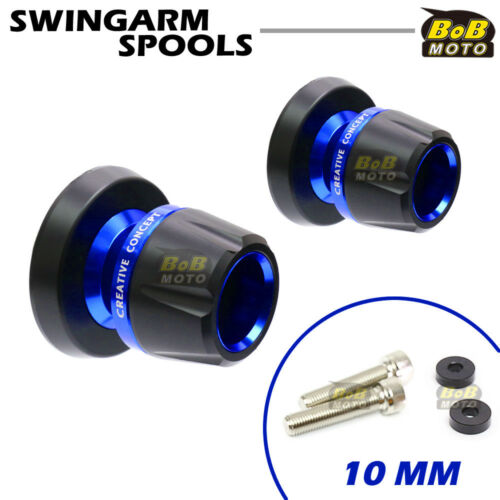 For Kawasaki Z750//Z750S 05 06 07 08 11 12 13 14 15 BoB CNC Swingarm Spools