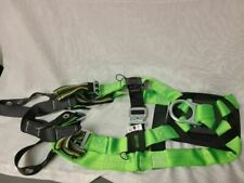 Miller By Honeywell Green Black Non Stretch Full Body Safety Harness Size Sm