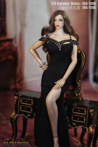 JIAOU Doll 1/6 Female Evening Dress Clothes 12'' TBLeague JO Figure Accessory