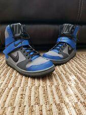 Foro Armonia procedura guidata  Nike Super High Strap Basketball Shoes 649208-002 Grey Blue Black Sz 10  RARE Af1 for sale online   eBay