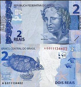 BRAZIL-2-REAIS-2010-2013-P-NEW-UNC