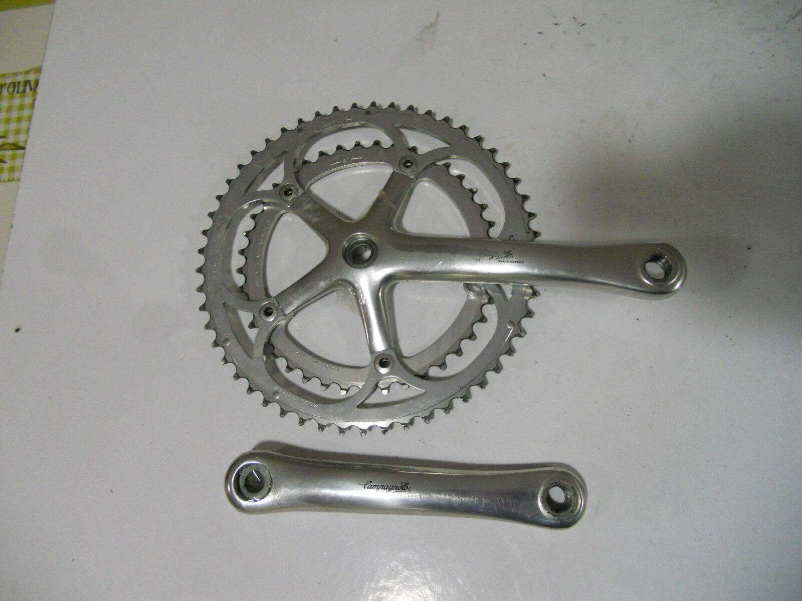 Campagnolo Record Crank 53 41 Chainring 170 mm Crank Road Bike