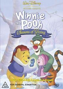 Winnie-The-Pooh-Seasons-Of-Giving-DVD-2007-Region-4-Rare-Brand-New-In-Plasti