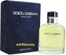 Dolce & Gabbana Pour Homme 4.2oz/125ml Edt Spray For Men New In Box