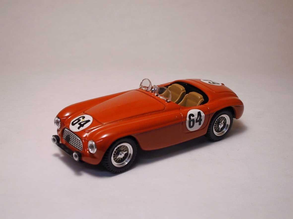 Ferrari 166 MM Spyder Le Mans 1951   64 1 43 Model 0080 ART-MODEL  design simple et généreux