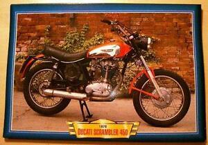 Image Is Loading DUCATI SCRAMBLER 450 VINTAGE CLASSIC MOTORCYCLE RACE BIKE