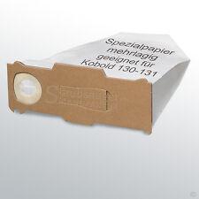 12 Filtertüten passend für Vorwerk Kobold 130 131 mit EB 350 351 Staubbeutel