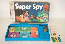 1971 MILTON BRADLEY SUPER SPY THE ELECTRIC ALARM BOARD GAME