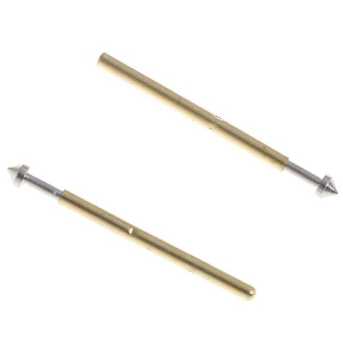 100Pcs P75-E2//E3 spring test probe pogo pin1.3//1.5mm conical head1.0mm thimbleUE