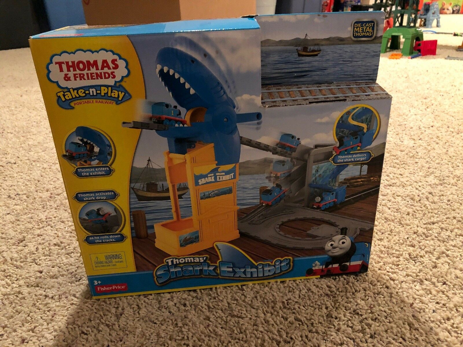 Fisher Fisher Fisher - price thomas & friends take-n-play thomas