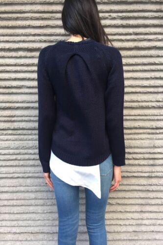 Size Navy femte Den label sweater Knit S i playhouse I1Xq4