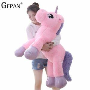 Cartoon-Unicorn-Plush-Toy-Soft-Stuffed-Giant-Doll-Animal-Toys-for-Children-Girls