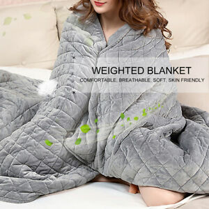 WR-POLYESTER-ADULT-WEIGHTED-BLANKET-QUILT-SLEEP-HELPER-ANXIETY-INSOMNIA-STRESS