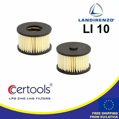 Tartarini original gasfiltereinsatz con sellos lpg autogas respiraderos filtro