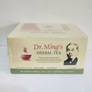 TE CHINO DEL DR MING TEA 60 BAGS WEIGHT LOSS NATURAL ...