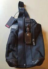 "TUMI Hickory Monterey Sling Bag - 222318HK2 - $275 Retail 10"" x14.5"" x 5""   A078"