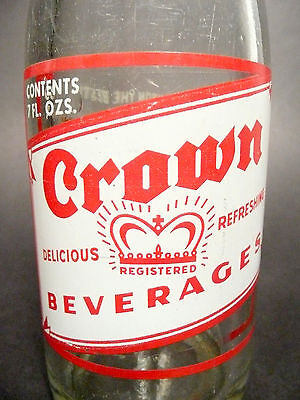 PA vintage ACL Soda POP Bottle 7 oz ACL green UP /'N UP of ERIE