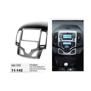 2-Din-Dash-Mount-Trim-Kit-Frame-Fascia-Stereo-For-HYUNDAI-i30-FD-2008-2011