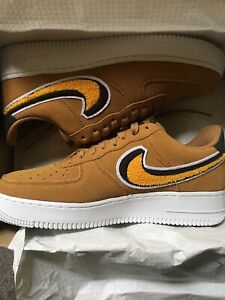 Details about Nike Air Force 1 '07 LV8 Muted BronzeYellow Ochre (823511 204)