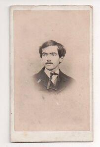 Vintage-CDV-Unknown-Civil-War-Era-Gent-Roddy-amp-Mathews-Photo-Meadeville-Penn