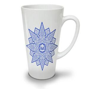 Mandala Star NEW White Tea Coffee Latte Mug 12 17 oz | Wellcoda