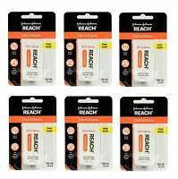 6 Pack Reach Dentotape Unflavored Extra Thick Waxed Tape 100 Yards. Dental Floss on sale