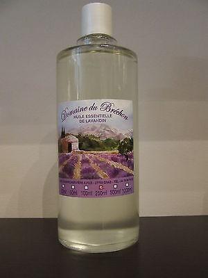 Huile essentielle de lavandin de l'Ardèche 100% pure et naturelle 250 ml
