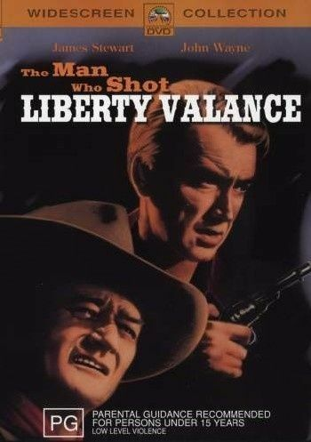 1 of 1 - The Man Who Shot LIBERTY VALANCE (DVD, 2002) NEW