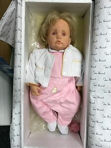 Top Zustand Art Dolls-ooak Götz Hildegard Günzel Puppe Vinyl Puppe 55 Cm