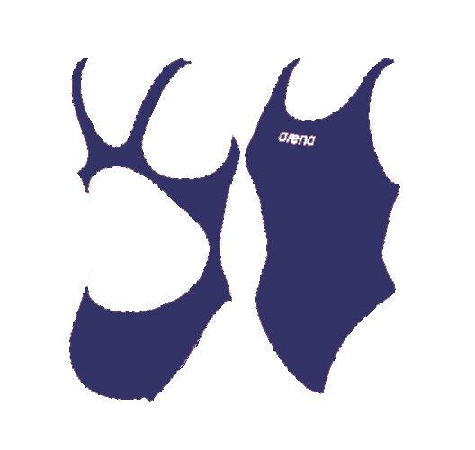 Costume ARENA SOLID (ex Makinas) blue tg.46 ita anticlgold nuoto