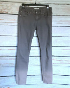 Size-25-Woman-s-FREE-PEOPLE-Gray-Dip-Dye-Ombre-Skinny-Jeans