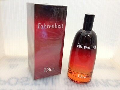FAHRENHEIT DIOR 6.8 FL oz / 200 ML Eau De Toilette Spray Sealed Box