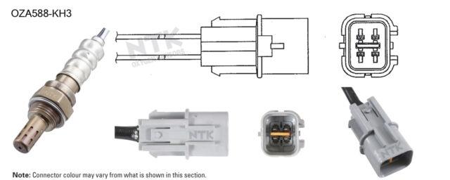 NGK NTK Oxygen Lambda Sensor OZA588-KH3