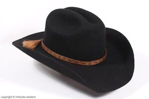 Details about Horse Hair Hat Band for Cowboy Hats Brown & Black with Five  Strands & 2 Tassels