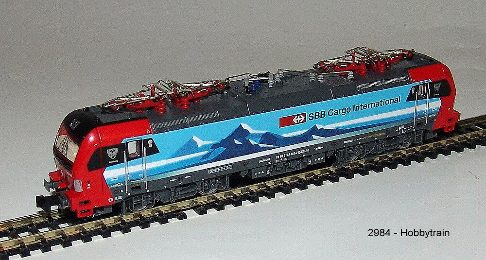 HOBBYTRAIN 2984 E-Lok BR 193 Vectron SBB Cargo  Duisburg  NUEVO EN EMB. orig.