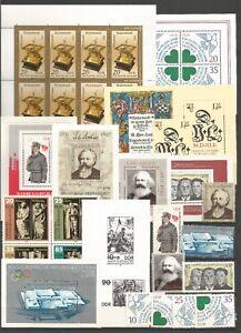 DDR-1983-postfrisch-kompletter-Jahrgang-mit-allen-Einzelmarken-ohne-schwarz-Dr