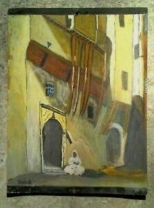 Peinture-ORIENTALISTE