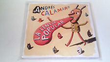 "ANDRES CALAMARO ""LA LENGUA POPULAR"" CD 12 TRACKS COMO NUEVO DIGIPACK"