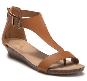 Kenneth-Cole-Women-039-s-Great-City-Toffee-Synthetic-sandals