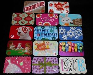 14-Collectible-Gift-Card-TARGET-Spring-Department-Store-Dif-Lot-No-Value-lt-2010