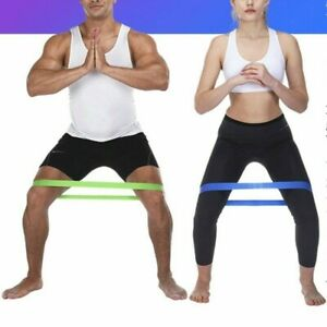 Resistance Rubber Bands Fitness & Training Equipment workout for Mens and  Girls   eBay