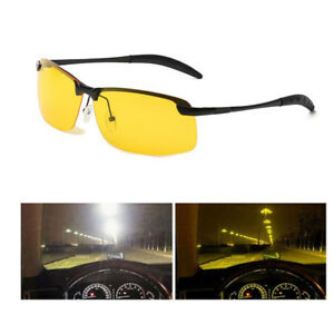 4281a68c40 Image is loading Unisex-Night-Driving-Glasses-HD-Anti-Glare-Vision-