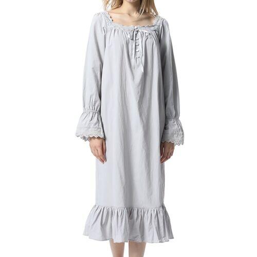 Beautiful Women/'s Vintage Pajamas High-end Princess Pajamas Long Sleeve Pajamas