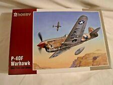 SpecialHobby P-40F Warhawk Guadalcanal Hawks Destitute Prostitute 1:72 kit 347