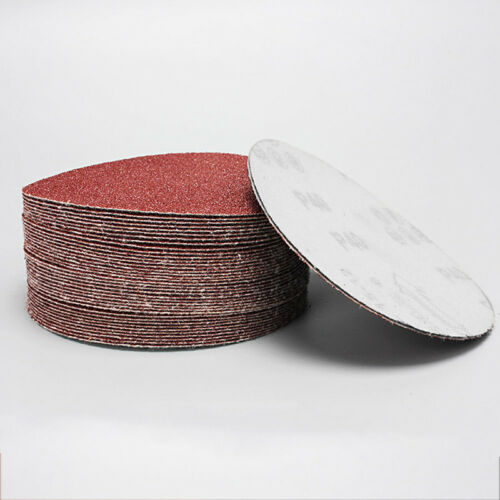 10 Pcs 4/'/' inch 100mm Sander Disc Sanding Pad 40-2000 Grit Polishing Sandpaper