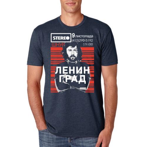 Leningrad t-shirt Russian Ukraine Belarus Propaganda Shnur Music Crew Neck Tee N