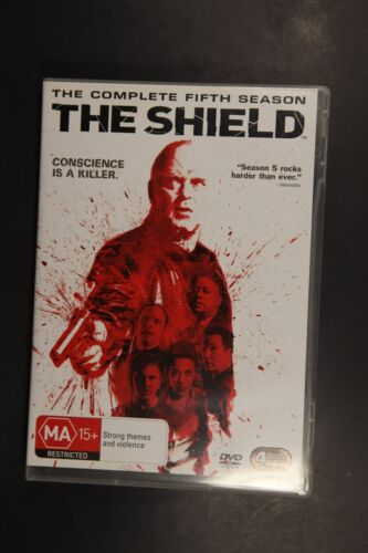 1 of 1 - The Shield : Season 5 (DVD, 2009, 4-Disc Set)   (Box D202)